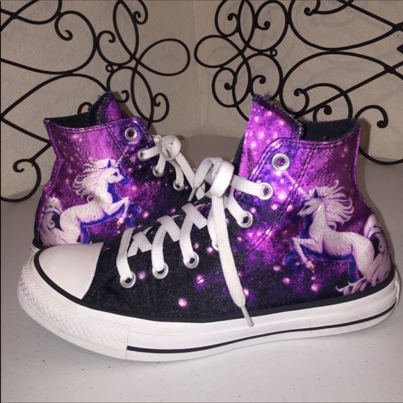 ef57bf46747 Converse Shoes - CONVERSE🦄LIMITED EDITION Galaxy Unicorn High Tops